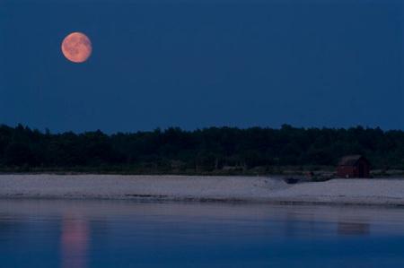 måne över Aursviken-liten